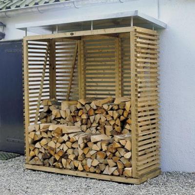 D coration for Abris bois moderne
