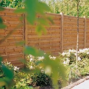 Les panneaux brise vue en bois