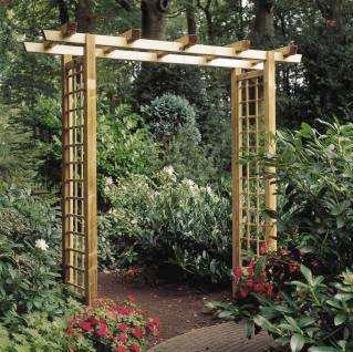 Les pergolas fr jus st rapha l draguignan for Arc de jardin en bois